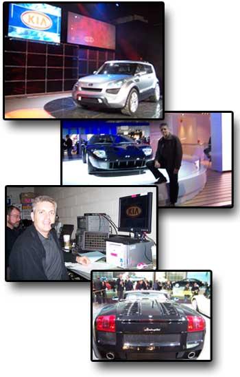 2006 Auto Show Kia Project