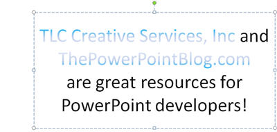how to add gradient to text in powerpoint
