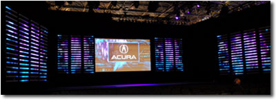 Acura NY Auto Show staging