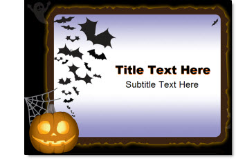 free halloween template | the powerpoint blog, Modern powerpoint