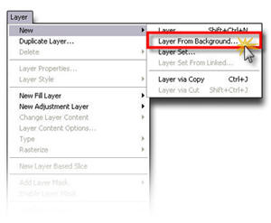 how to add a colour to your background layer photoshop