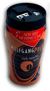 WolfGang Puck Instant Hot Latte!