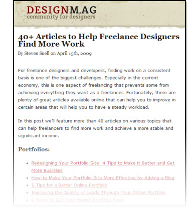 Astounding 40 Articles To Help Freelance Designers Find More Work Interior Design Ideas Clesiryabchikinfo