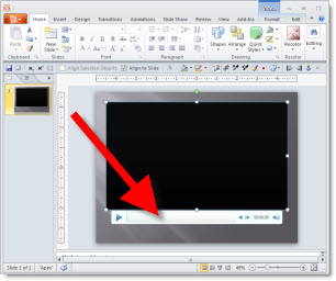 how to play audio throughout a powerpoint