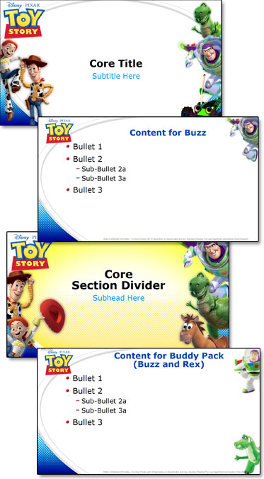 Toy story template and lots of master layouts the powerpoint blog related posts ultrawide projections free christmas template toneelgroepblik Image collections