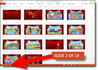 You can now make amazing widescreen presentations using powerpoint.