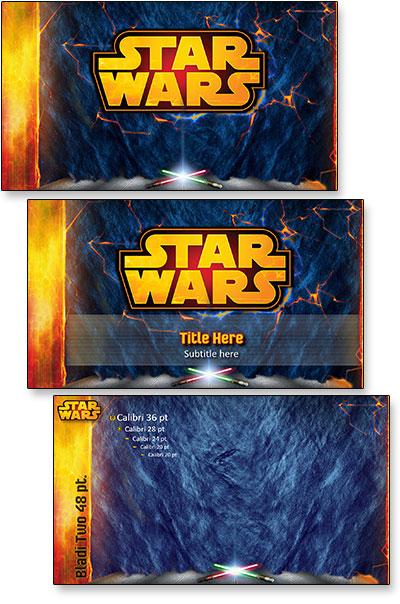 star wars template  portfolio