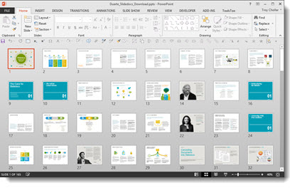 duarte releases slidedocs 'book' | the powerpoint blog, Powerpoint templates