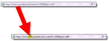 avec youtube pwn