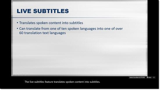 Presentation Translator 5