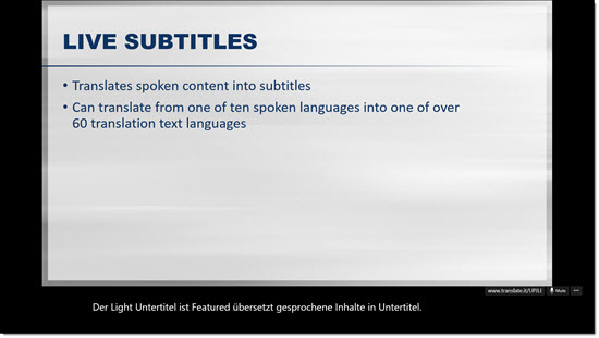 Presentation Translator 7
