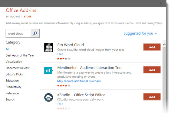 Pro Word Cloud